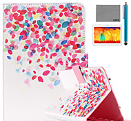 LEXY® Painted Little Pattern PU Leather Flip Stand Case with Screen Protector and Stylus for iPad Air 2/iPad 6
