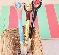 3PCS Angry Birds Gel Pen Sign Pen Ballpoint Pens