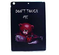 Chainsaw Bear Painted TPU Tablet computer case for ipad air