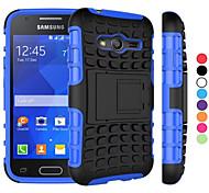 2 in 1 zweifarbige abnehmbare PC + TPU Hybrid Fall mit kickstand für Samsung-Galaxiekern prime / grand prime / junge 2 / ace 4