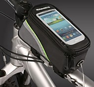 Bike Bag For Samsung Galaxy S4 Other Similar Size Phones BicycleTouch Screen Mobile Phone Bag / 4.8Inch