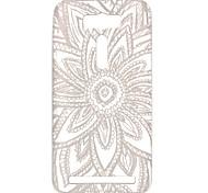 novas flores de rendas de casos padrão TPU oco para asus zenfone ze550kl 2 laser (5,5 polegadas)