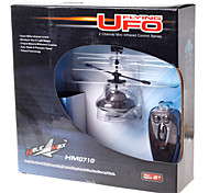Yu Hang HM0710 Mini Remote Control Flying UFO Black
