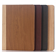12.9 Inch Wood Grain Pattern High Quality Wallet Case with Hold for iPad Pro