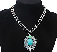 European And American Fashion Wild Classical Opal Necklace