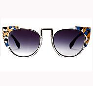 Sunglasses Women's Retro/Vintage / Modern / Fashion Round White / Orange / Red / Blue / Green Sunglasses Full-Rim