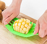 1 Piece Cutter & Slicer For Vegetable Plastic Creative Kitchen Gadget / High Quality