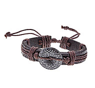 Vintage Unisex Fabric Leather Bracelet