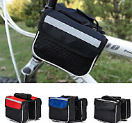 Waterproof 2L Cycling Bag Bike Top Tube Saddle Bag Front Tube Bicycle Frame Pannier Bag Rack Bicycle Accessories