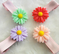 Dog / Cat Hair Accessories Red / Green / Blue / Pink Summer Cosplay