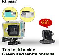 KingMa® Original Xiaomi Yi Camera Waterproof Case 40M +Black Tripod Mount Adapter
