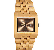 Vintage Mens Wood Watch, Mens Wooden, Japan Quartz WristWatch,Gift Idea,Wedding Gift Wrist Watch Cool Watch Unique Watch