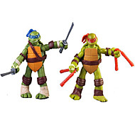 4 Pcs 12cm TMNT Teenage Mutant Ninja Turtles PVC Action Figure Anime Model