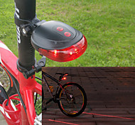 Bike Lights / Rear Bike Light LED / Laser - Cycling Warning / Easy Carrying AAA 100 Lumens Battery Cycling/Bike-Lights