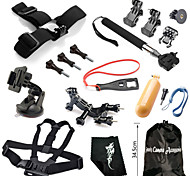 Hot Outdoor Sports Camera Accessories Kit,16-In-1 For GoPro Hero 1/ 2/ 3/ 3+/ 4/ 4 Session