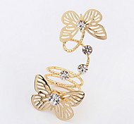 European And American Fashion Butterfly Fantasy Ring
