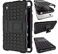 TPU & PC Dual Armor case with Stand Holder Hard Silicone Armor Cover Shock Proof Anti-Skid Combo Case For OnePlus X