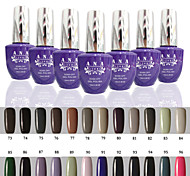 1 pcs ana 192 couleurs nail art gelpolish ongles en gel uv tremper hors de 15ml 73-96