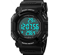 Skmei® Men's  Outdoor Sports Multifunction LED Watch 50m Waterproof Assorted Colors Cool Watch Unique Watch