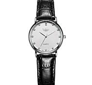 Women's Fashion Genuine Leather With Zircon Wrist Watches