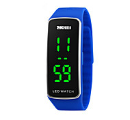 Skmei®Children Outdoor Sports Multifunction LED Wrist Watch Silicone Strap Assorted Colors Cool Watches Unique Watches