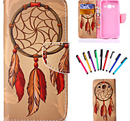 PU Leather Shatter-Resistant Case Case Package Includes stylus for Samsung Galaxy  CORE Prime G360
