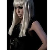 alta qualidade da moda syntheic médio peruca staight