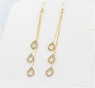 New Arrival Fashional Rhinestone Water Drop Earrings