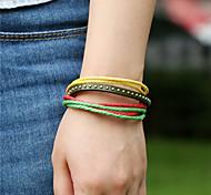 Unisex Leather Rivet Handcrafted Vintage Bracelet(More Colors)
