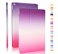 Good quality PU leather rainbow gradient holster for iPad Pro