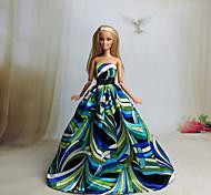 Barbie Doll - Abiti - Party & Sera - di Organza / Pizzo - Nero / Blu - Abiti