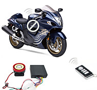 9-16v Motorcycle Alarm System 125dB 2 Remote Controls Anti-Theft Burglar Alarm