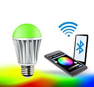 Smart Phone App Control Bluetooth LED RGB And Warmwhite Bulb