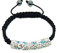 Crystal Jewelry Strand Beads Bracelets For Women color Crystal AB Clay Ball Bracelet&brangle charm xb-361