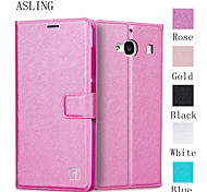 ASLING Protective Flip-Open PU Leather Case Full Body Credit Card Holder Slots Luxury Cell Phone Bag For Xiaomi Redmi 2