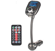Auto-MP3-Audio-Player Bluetooth FM-Transmitter mit drahtlosen FM-Modulator Car Kit Freisprecheinrichtung LCD-Bildschirm USB-Ladegerät