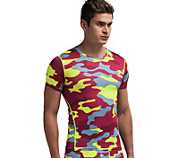 Vansydical Men's Quick Dry Fitness Tops - JSY-2015023