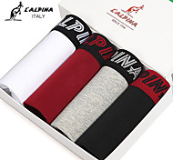 L'ALPINA® Men's Cotton Boxer Briefs 4/box - 21125