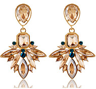 New Arrival Fashional Rhinestone Crystal Gem Earrings