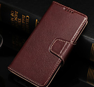 Men's Business Yak Leather Card Holder  Phone Case Holster for Samsung Galaxy S4/S5/ S6 /S6Edge/S6Edge+(Assorted Colors)