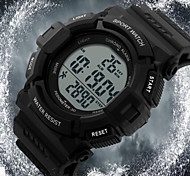 Men's Pedometer LCD Digital Rubber Band Sports Watch Cool Watch Unique Watch