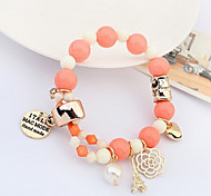 Fashion Jewelry High Quality Candy Rose Bracelet