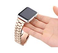 aço inoxidável fivela clássico pulseira de relógio para o relógio maçã banda substituição iWatch com conector do adaptador de metal