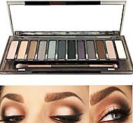 New Eyeshadow Palette 12 Colors Make up Set Basic Eyeshadow SMOKY Palettes Cosmetics