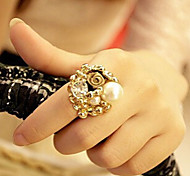 New Arrival Fashional Pear Rose Flower Ring