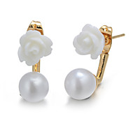 Alloy Earring Stud Earrings Wedding / Party / Daily / Casual 2pcs,XD512-41
