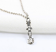 Women's Doctor Who Sonic Screwdriver Pendant Necklace 1pc