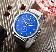 Fashion Classic Style Watches Stainless Steel Mesh Belt Quartz Wrist Watch for Men Women