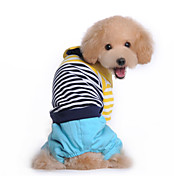 Dog Costume / Coat / Clothes/Jumpsuit / Outfits Multicolored Winter StripeCosplay / Valentine / Holiday / New Year's / Camouflage / Keep