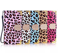 Fashion Leopard Grain Design PU Case for Samsung Galaxy Note2 Note 3 Note4 Note5 Note Edge (Assorted Color)